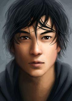 Kai  http://thesilvereye.tumblr.com/post/69087531552/portrait-of-prince-kai-x#notes