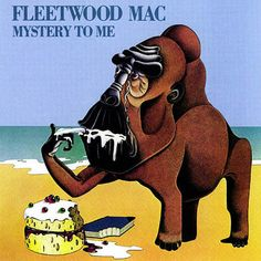 Fleetwood Mac - Mystery To Me, 1973.  I drew this as a young girl.  I do not claim it is someones else's art.