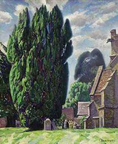 St Michael's Church, Compton Chamberlayne / Dame Laura Knight (1877 - 1970)