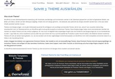 awesome Welches Theme passt zu meinen Food Blog? Blog, Videos, Cooking Recipes, Pictures, Video Clip