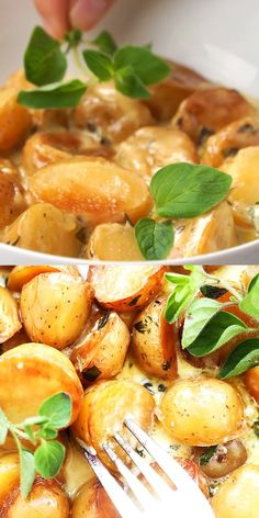 Most Delicious Recipe, Delicious Dinner Recipes, Brunch Recipes, Easy Recipes, Yummy Food, Weeknight Meals, Easy Meals, Instant Pot Potato Recipe, Food Videos