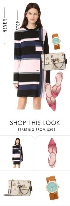 """""""dress"""" by masayuki4499 ❤ liked on Polyvore featuring Public School, Kate Spade, Coach and Tory Burch"""