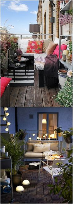 Great way to convert an otherwise unusable outdoor space