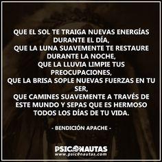 Bendición Apache