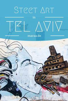Street Art in Tel Aviv, Israel   #streetart #telaviv #israel