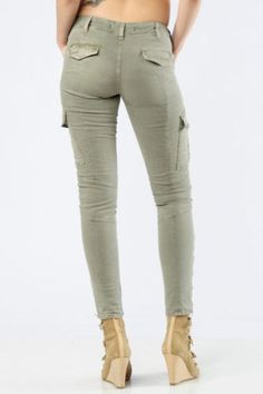$231 J Brand 1229 Houlihan Skinny Stretch Cotton Cargo Pants in Vintage Taupe 30 in Clothing, Shoes & Accessories, Women's Clothing, Jeans | eBay