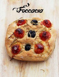 Foccacia - przepis na najlepszy włoski chlebek. Bread, Food, Brot, Essen, Baking, Meals, Breads, Buns, Yemek