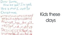 35+ Of The Funniest Letters To Santa From Kids