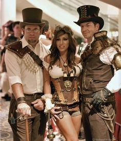 Steampunk Trio