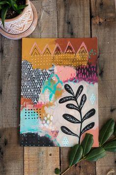 boho art malerei The post Boho Art Painting Boho Art Malerei appeared first on DIY Projects. Illustration Inspiration, Art And Illustration, Art Journal Inspiration, Art Inspo, Colour Inspiration, Art Du Collage, Art Design, Art Plastique, Art Projects