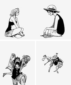Luffy x Nami time. I think, The best couple in One piece.