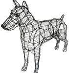 Topiary Dog Doberman