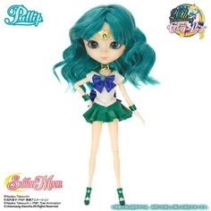 Sailor Moon Manga, Pullip Sailor Moon, Sailor Neptune, Sailor Moon Collectibles, Smart Doll, Doll Stands, Blue Bow, Doll Maker, Pretty Dolls