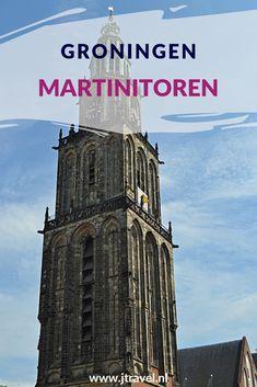 In het centrum van Groningen, aan de Grote Markt, staat de Martinitoren, d'Olle Grieze, hét symbool van de stad. Lees je mee over deze toren en het schitterende uitzicht over Stad en Ommeland? #martinitoren #ollegrieze #groningen #jtravel #jtravelblog