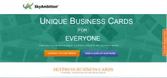 CRAFTING THE WORLD'S FINEST BUSINESS CARDS AT AFFORDABLE PRICES...