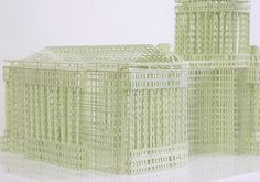 3D Paper Architecture by  Jill Sylvia