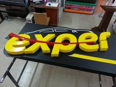 3d Signage, Store Signage, Outdoor Signage, Signage Design, Logo Design, Logos 3d, Led Sign Board, Gym Interior, Word Mark Logo
