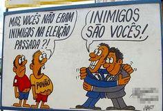 E Viva a Farofa!: O Brasil e os partidos