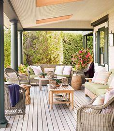 Front porch. Love the colors!