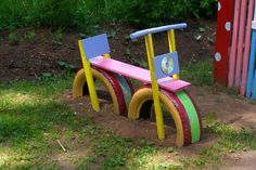 д – kids backyard Kids Backyard Playground, Preschool Playground, Backyard For Kids, Backyard Games, Kids Outdoor Spaces, Kids Outdoor Play, Kids Play Area, Playground Accessories, Tire Craft