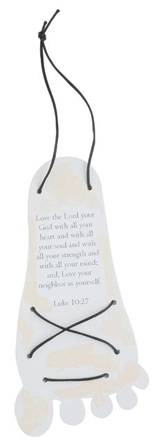 "Sandy Samaritan Sandals from Guildcraft Arts & Crafts! In the story of the #GoodSamaritan, #Jesus gives us the greatest commandments - to love #God and our neighbor. Kids can learn about these commandments while making this craft. Includes preprinted cardboard feet, sand, cord and glue. 8 1/2"" x 4""."
