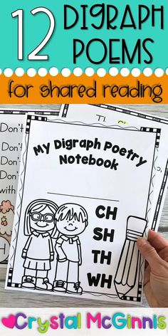 Digraphs Poems for Shared Reading