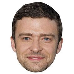 Justin Timberlake Celebrity Mask Cardboard Face and Fancy Dress Mask ** You can get additional details at the image link.
