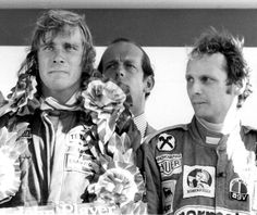 James Hunt & Niki Lauda