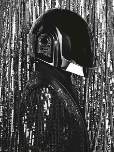 Daft Punk and Giorgio Moroder photographed and styled by Hedi Slimane for the June 2013 cover story of Dazed & Confused magazine.