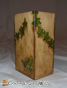 Crafty Crafty Book: Wooden box decoupage - Ivy