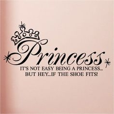 it's not easy being a princess, but hey, if the shoe fits ♡
