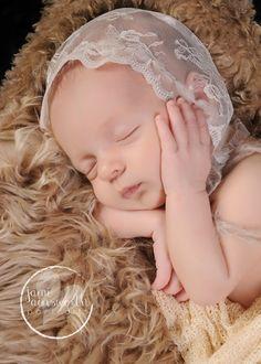 Newborn bonnet Newborn photo prop Newborn hat Newborn by LeAnge