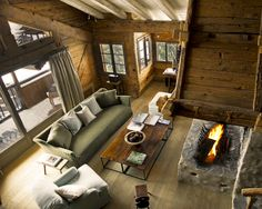 Le Chalet, French Alps not far away from the famous alpine village of Mègeve