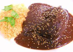 メキシコ料理 エル・ミラソル Cocina Mexicana El Mirasol|鶏モモ肉のモーレ Pollo en mole