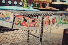 Custom Dessert Tables | Peter Pan Neverland Birthday Party | Jenny Cookies