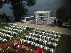 Weddings lakeside RiceLake