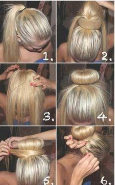 long hair style for women