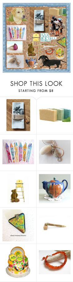 """""""It's A Crazy Beautiful World"""" by sylvia-cameojewels ❤ liked on Polyvore featuring Hostess and vintage"""