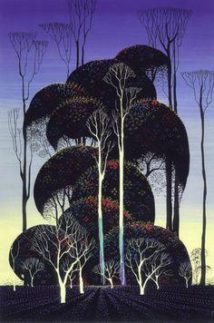 """""""Forest Arabesque""""Eyvind Earle"""