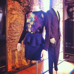 #portoedourowineshow #portuguese #fashion #designers #exhibition #clothes #man #woman #stone #wall #conventodobeato #lisboa #portugal - @ritzdesousa- #webstagram