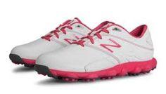 New arrival : New Balance NBG10...  Check it out  http://closeoutkicks.com/products/new-balance-nbg1002-womens-minimus-lx-golf-shoe-komen-edition-wht-pink?utm_campaign=social_autopilot&utm_source=pin&utm_medium=pin