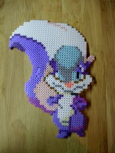 Perler beads Fifi by MR16Bits on deviantart