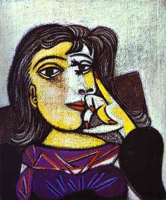1937+Pablo+Picasso+%28Spanish+artist%2C+1881%E2%80%931973%29++Dora+Maar.+1937..jpg (562×674)