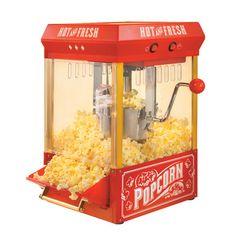 vintage popcorn    Nostalgia Electrics Vintage Kettle Popcorn Maker