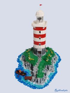 Lighthouse on an island | Flickr - Photo Sharing!