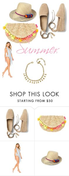 """Anklet"" by cleonyc on Polyvore featuring Chloe + Isabel, Gap, Lilly Pulitzer, Lisa Marie Fernandez and YOSUZI"