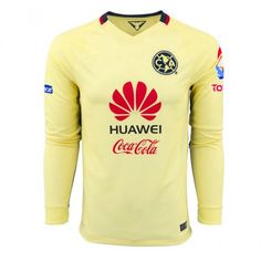 024e73efe Club America 2015-2016 Season LS Home Soccer Jersey - Click Image to Close  Soccer
