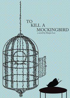 Redesigned Book Cover - To Kill A MockingBird by Benedict Au, via Behance