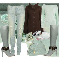 """""""clear colours """" by dalmatinka on Polyvore"""