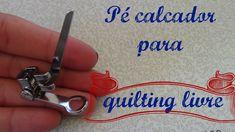 Calcador para quilting livre